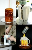 Beer Jar Cake by Verusca