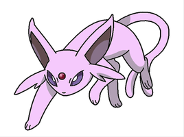 Espeon by Thunderwest