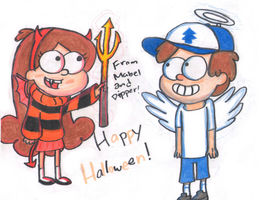 Happy Halloween! by TheDPFangurl