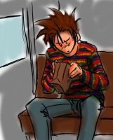 Sano and the Sweater of D00M by TheProphetTalia