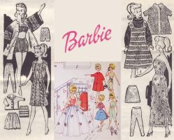barbie wallpaper design by electricjesuscorpse
