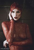 woman in RED by H-AND