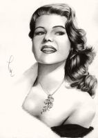 Rita Hayworth by Thubakabra