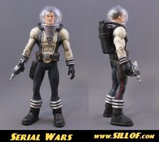 Serial Wars: Capt. Hawk Solar by sillof