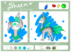 Sheen the Finnedyr by FayneFirestar