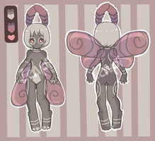 Anthro Moth- Auction (closed) by lenpi