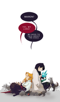 We need to talk about the dogs by sycamoreleaf
