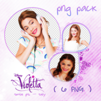 Violetta PNG PACK by ddlovatosl