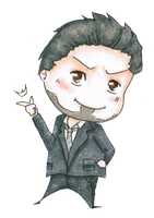 Tony Stark Chibi by One2See4Five