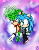 .:REQUEST:. Manic and Michell by SonicFF