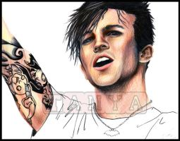 Scribbles Pete Wentz 2 by love4me