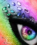 Rainbow Glamour Eye by LT-Arts