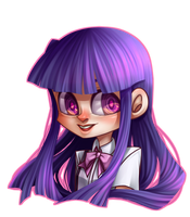 Rika Furude by Krooked-Glasses