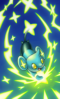 Shinx used Spark! by Orangetavi
