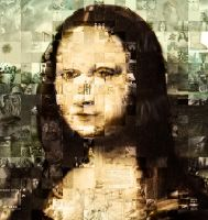 Mona Lisa - Constructed by Peachymunkie