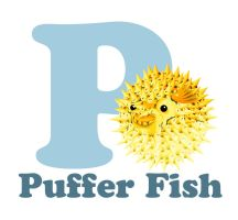 P is for Puffer Fish by RSImpey