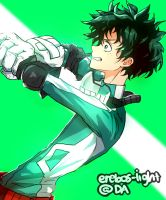 'DETROIT SMASHHH!!!!!!' DEKU- My Hero Academia by erebos-light