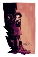 Death by Chris Bachalo by MAROK-ART