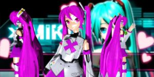 P-Style Miku Dt (Pink) by GrayFullbuster21