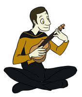 Data and a Ukulele by brody-bot