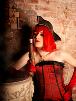 Pirate Madame Red by me by AnnaProvidence
