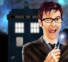 Tenth Doctor by JessHavok
