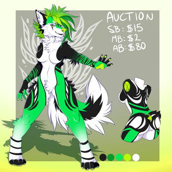 Canine Design Auction -CLOSED by NazaKiru