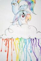 Rainbow Splash II by PrettyPinkP0ny