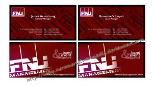 FNJ Management Business Card by noremorseiwannadie