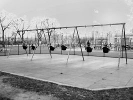How come the swings were never by bareeska