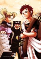Naruto: Sand Nin by l-s
