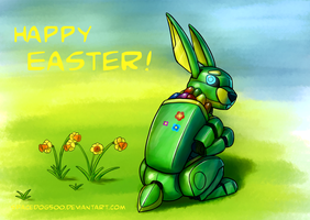 Happy Easter by SpaceDog500