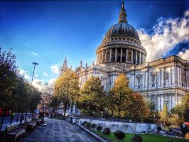 St Paul`s Cathedral (London) by japanhead69