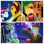 My Monster high couples by Fangirl-ANG3L
