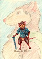 Old Redwall-Martin the Warrior by WolfenM