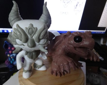 Sculpture wips by torithefox