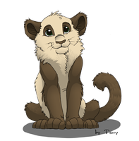 Bamboo kitten by Iguana-in-Darkness
