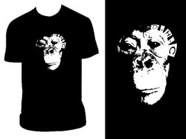 Chimp T by PandaPirate69