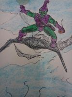 Ok..Where is He??? -detail of Green Goblin by dhbraley