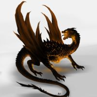 Smaug by Aosk26