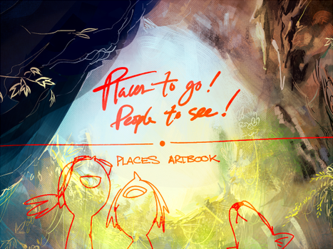 Places Artbook Preview! PREORDERS R OPEN by forgottenpantaloons