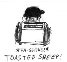The Toasted Sheep by theloz