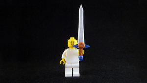 LEGO 3D Printed Painted Biggoron Sword by mingles