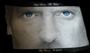 Eyes - Hugh Laurie by corienb