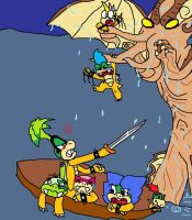 Cthulhu and the Koopaling Boys by SonicUnbelieveable