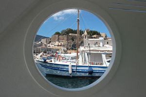 Lipari - Viewed from a Porthole by AgiVega