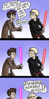 Very Own Lightsaber by Fonora