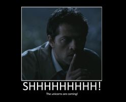 Castiel Demotivator by BoosterSeat3
