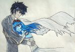 Gruvia as Corpse Bride by Libra-Creates