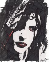Twiggy Ramirez by glassreplica00